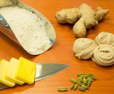 Chapati-and-Karak-making