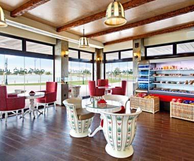Aspire Grand cafe Inside View