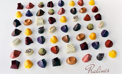 chaclate-Pralines